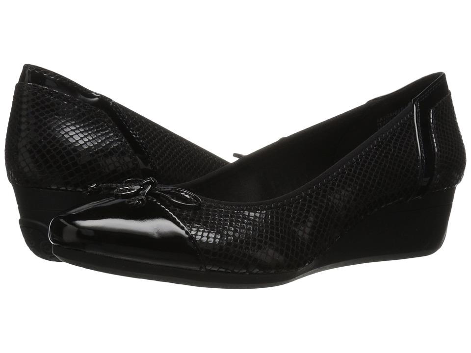 Anne Klein - 7Bahiara (Black Multi Fabric) Women