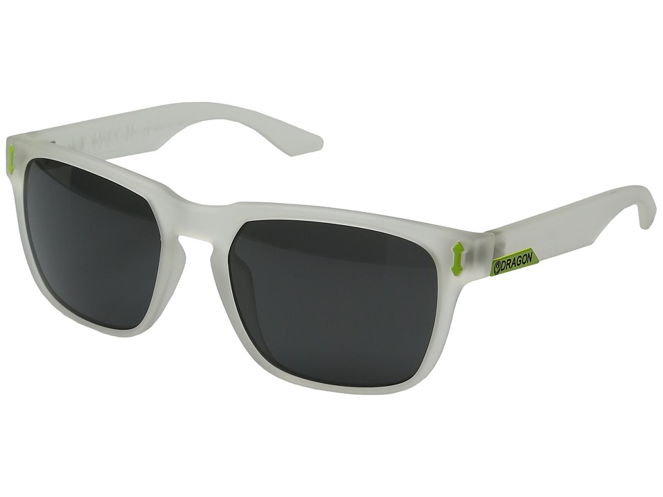 Dragon Alliance - Monarch (Matte Crystal/Grey) Sport Sunglasses