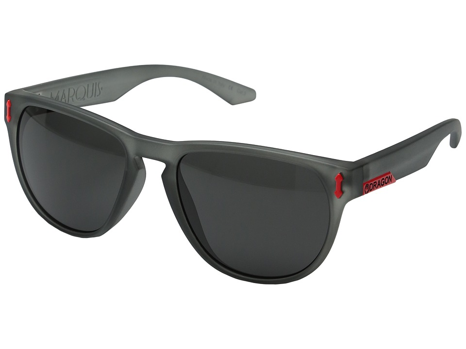 Dragon Alliance - Marquis (Matte Dark Grey/Grey) Sport Sunglasses