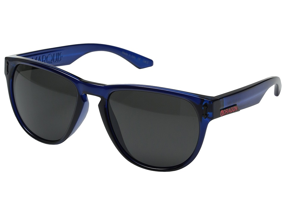 Dragon Alliance - Marquis (Deep Navy/Grey) Sport Sunglasses