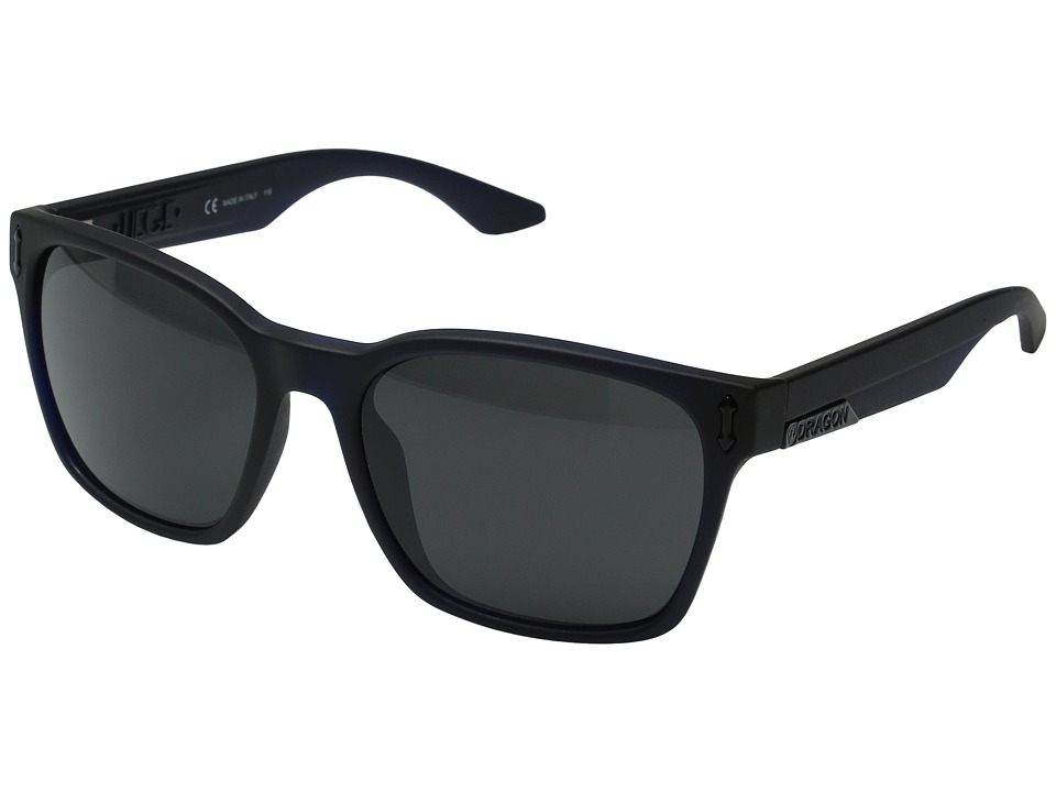 Dragon Alliance - Liege (Matte Navy/Grey) Sport Sunglasses