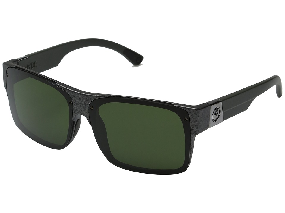 Dragon Alliance - Reverb (Gunmetal Marble/Green) Sport Sunglasses
