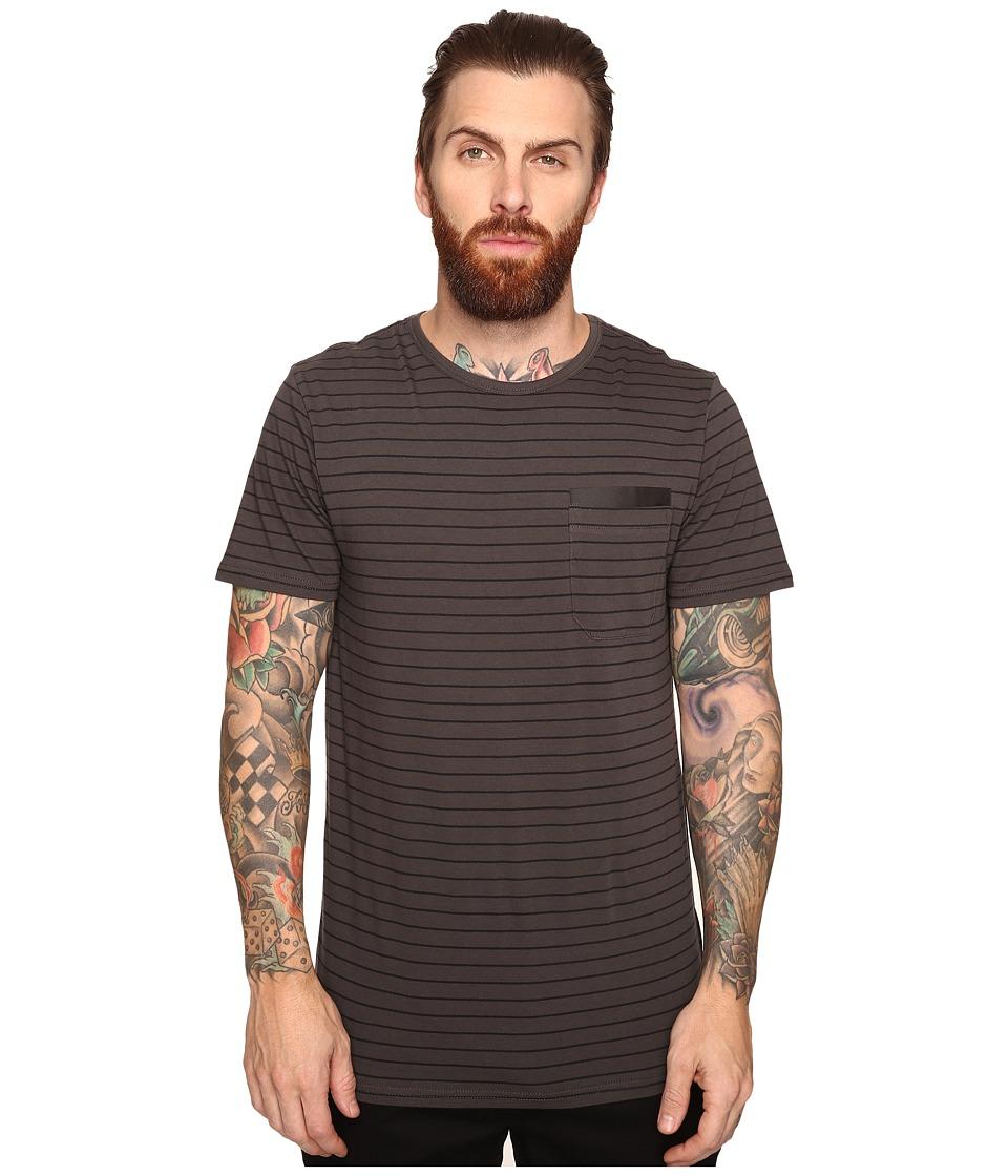 Tavik - Tracer Short Sleeve Knit (Raven/Black) Men's Short Sleeve Knit