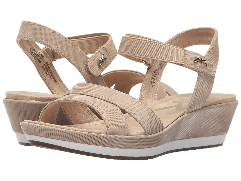 Anne Klein - Izoya (Light Natural/Light Natural Synthetic) Women's Shoes