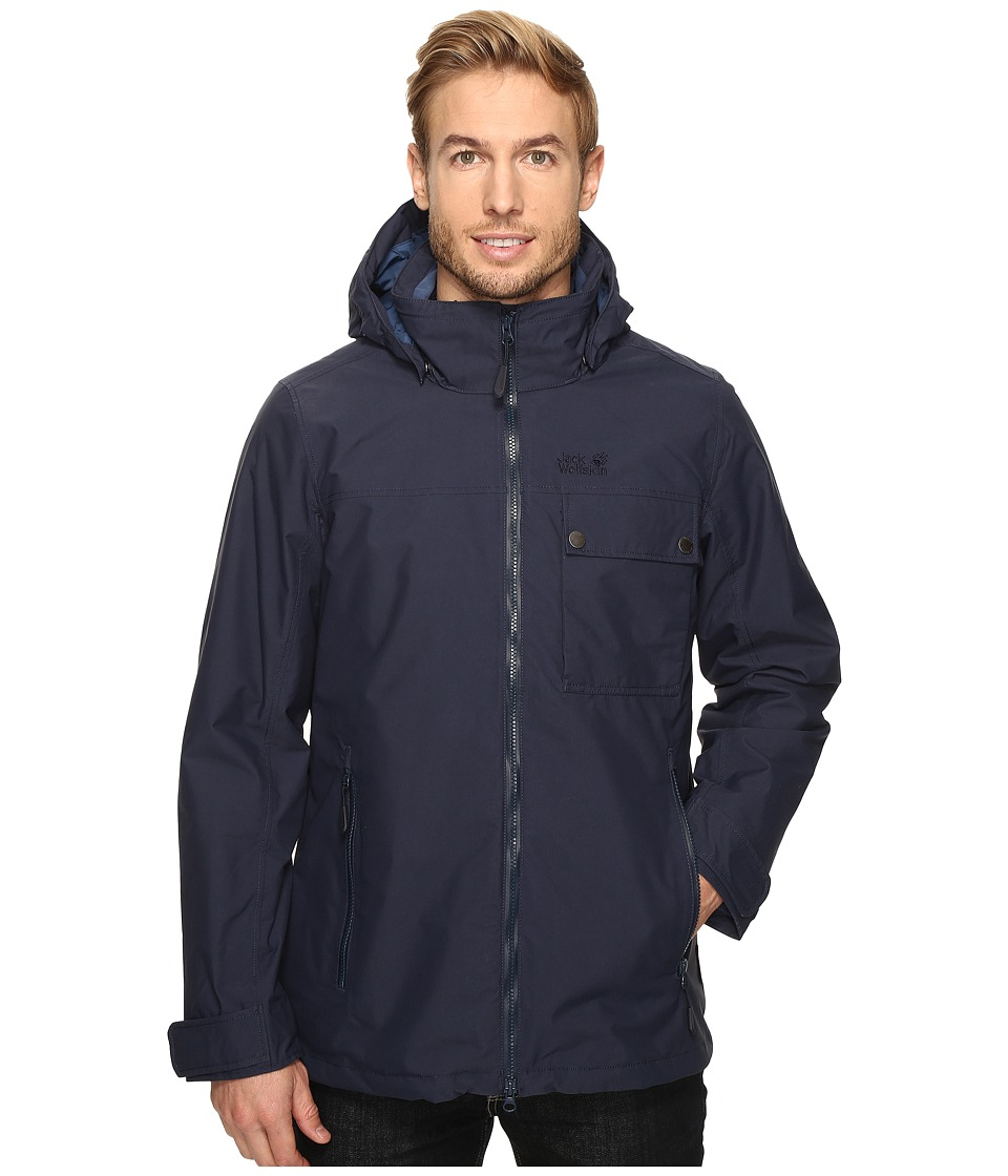 Jack Wolfskin Vernon Jacket (Night Blue) Men