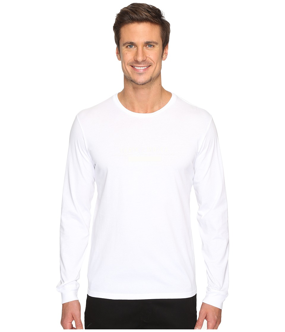 Tavik - Akinto Long Sleeve T-Shirt (White) Men's T Shirt