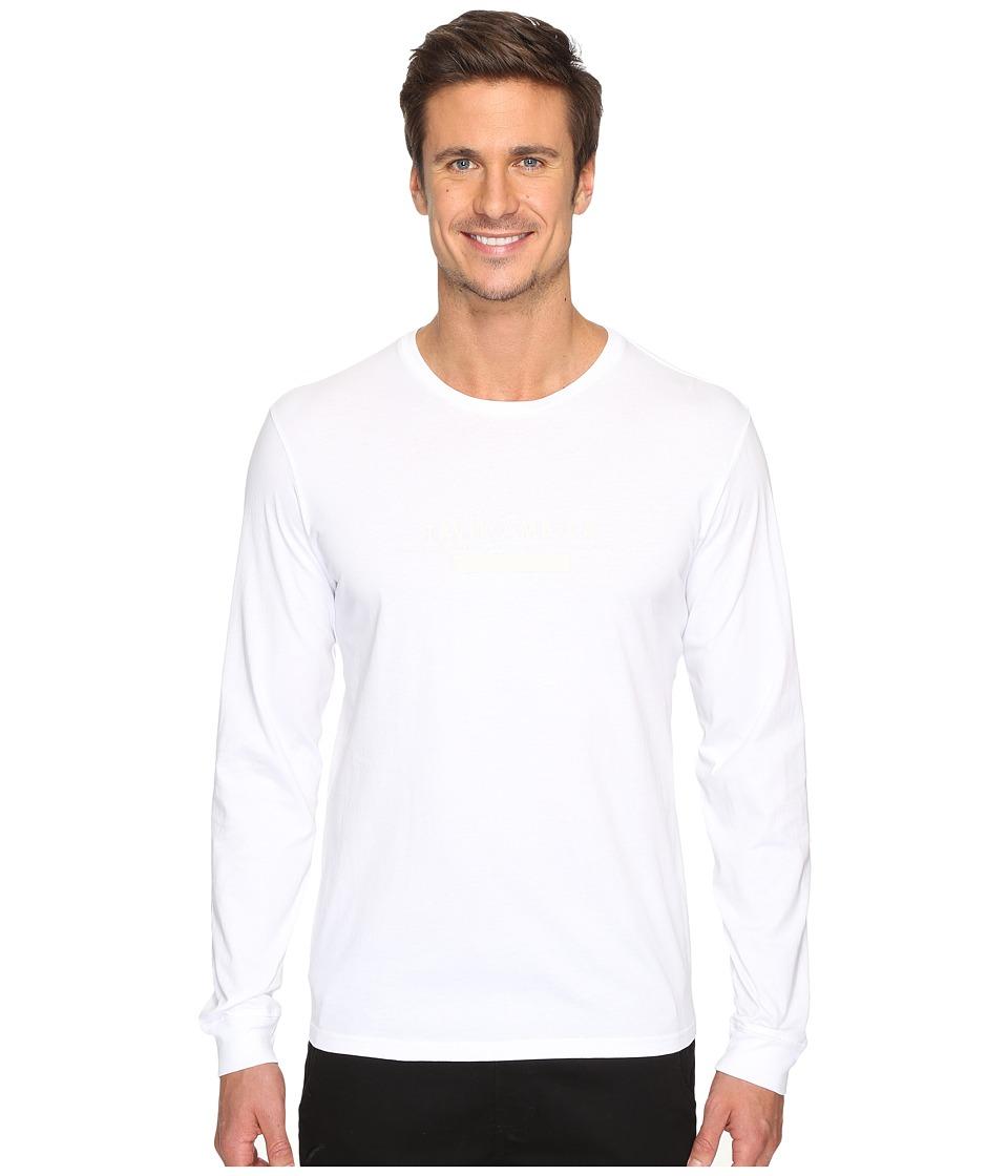 Tavik - Akinto Long Sleeve T-Shirt (White) Men's T Shirt