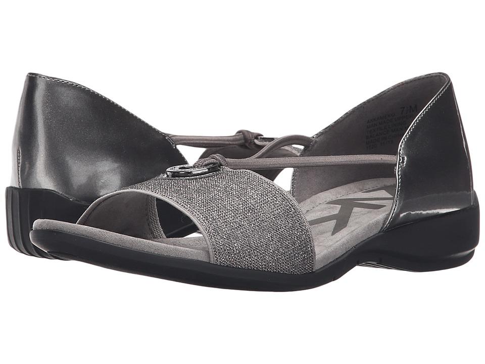 Anne Klein - Kameko (Pewter/Pewter Synthetic) Women's Sandals