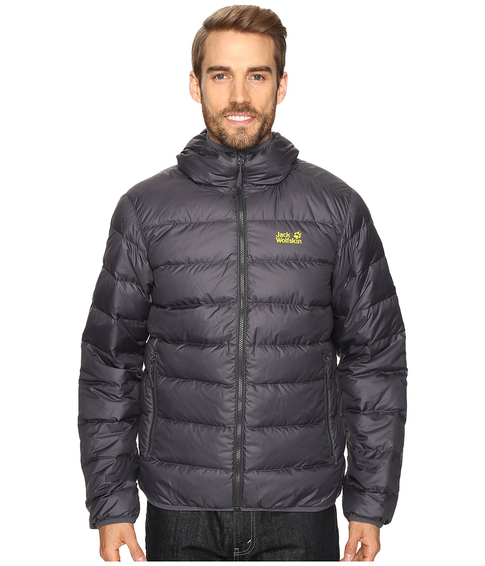 Jack Wolfskin Helium Jacket (Ebony) Men