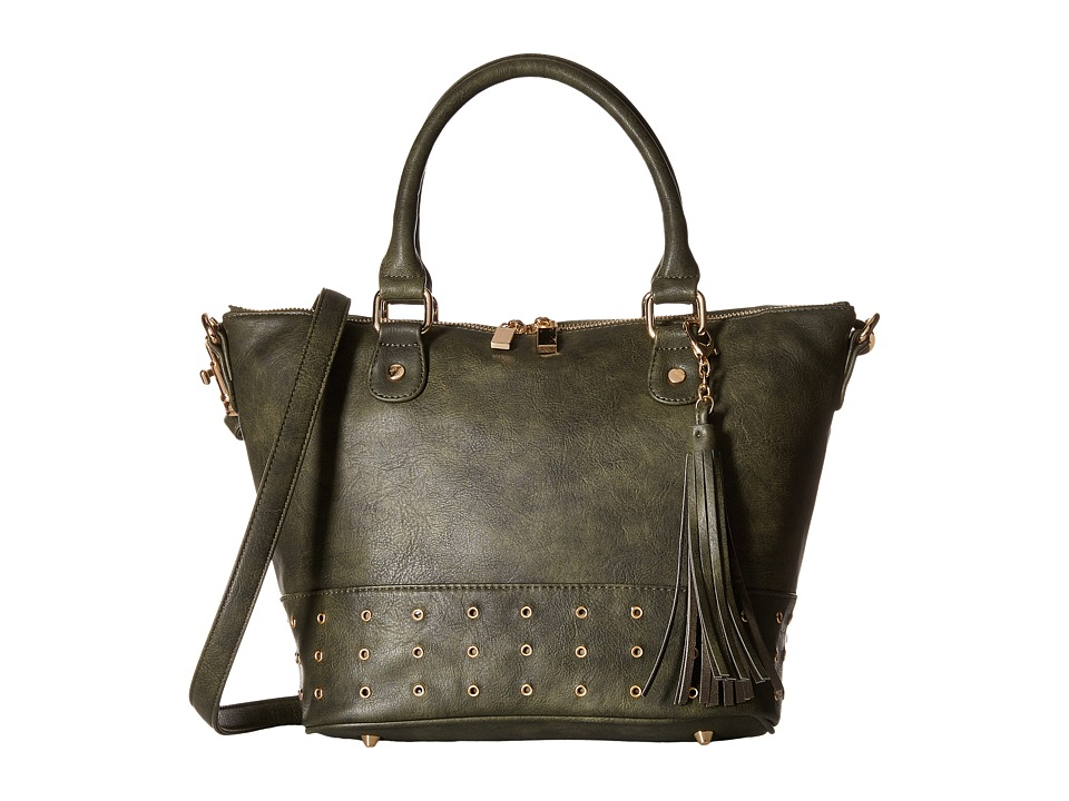 Deux Lux - London Satchel (Hunter) Satchel Handbags