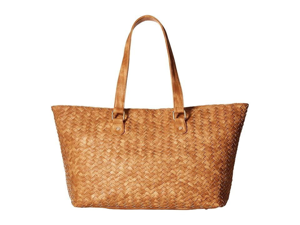Deux Lux - Gramercy Tote (Honey) Tote Handbags