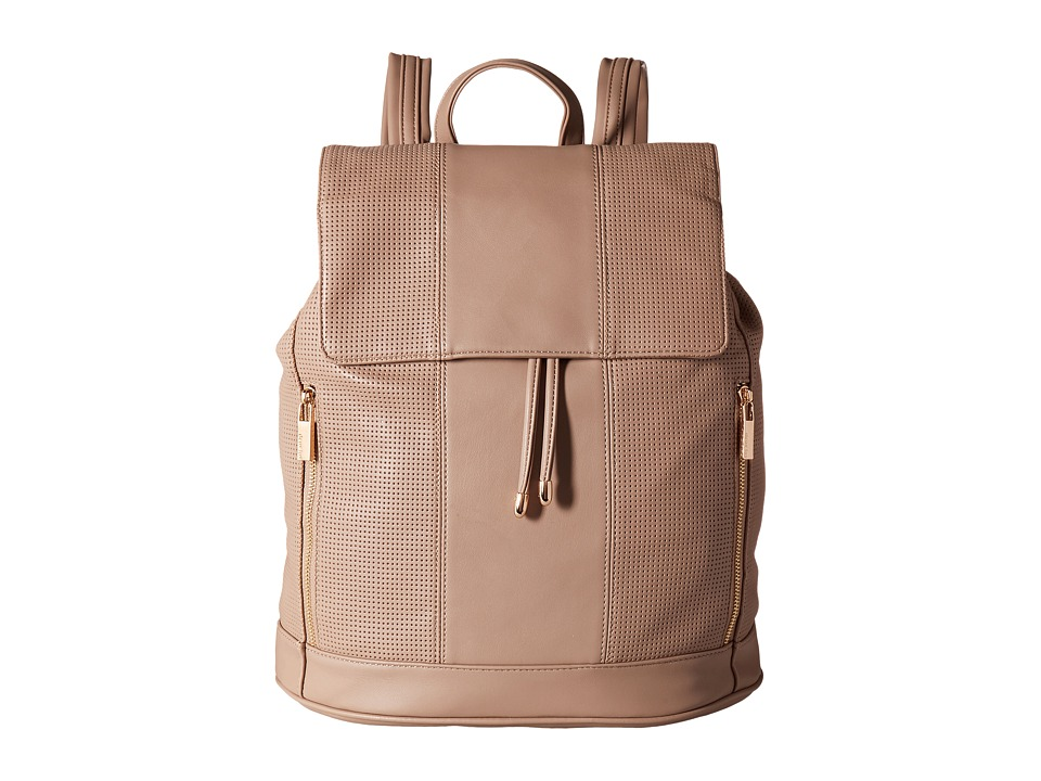 Deux Lux - Downtown Stripe Backpack (Taupe) Backpack Bags