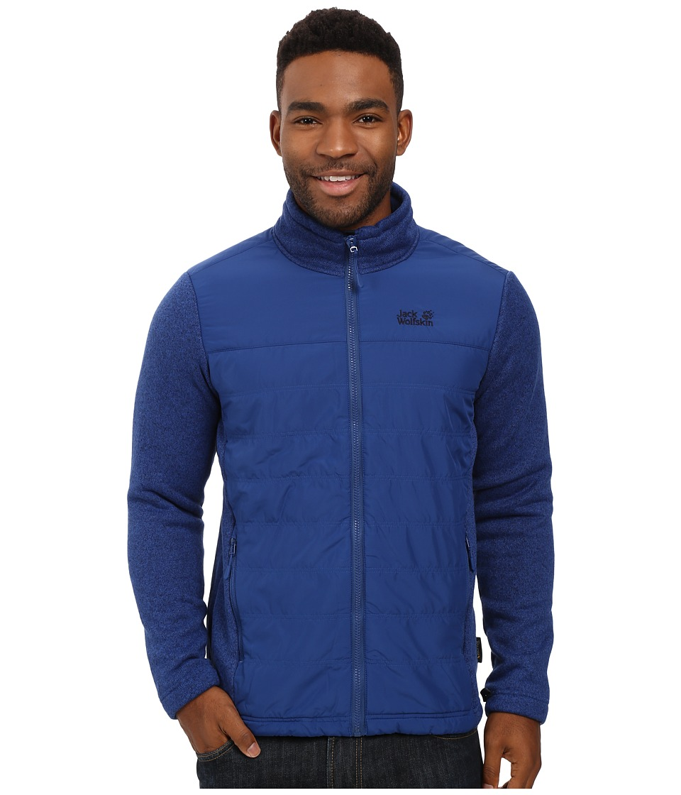 Jack Wolfskin - Caribou Crossing Altis Jacket (Deep Sea Blue) Men's Coat
