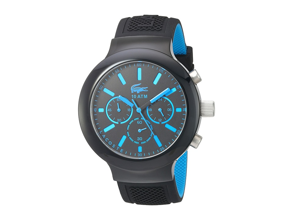 Lacoste - 2010812 - BORNEO CHRONO (Blue/Black) Watches
