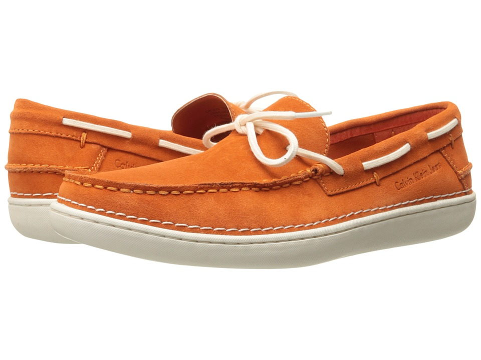 Calvin Klein Jeans - Calico (Orange Cow Suede) Men's Shoes