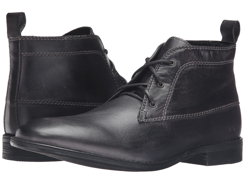 Bed Stu - Keith (Black Garment Dye) Men's Shoes