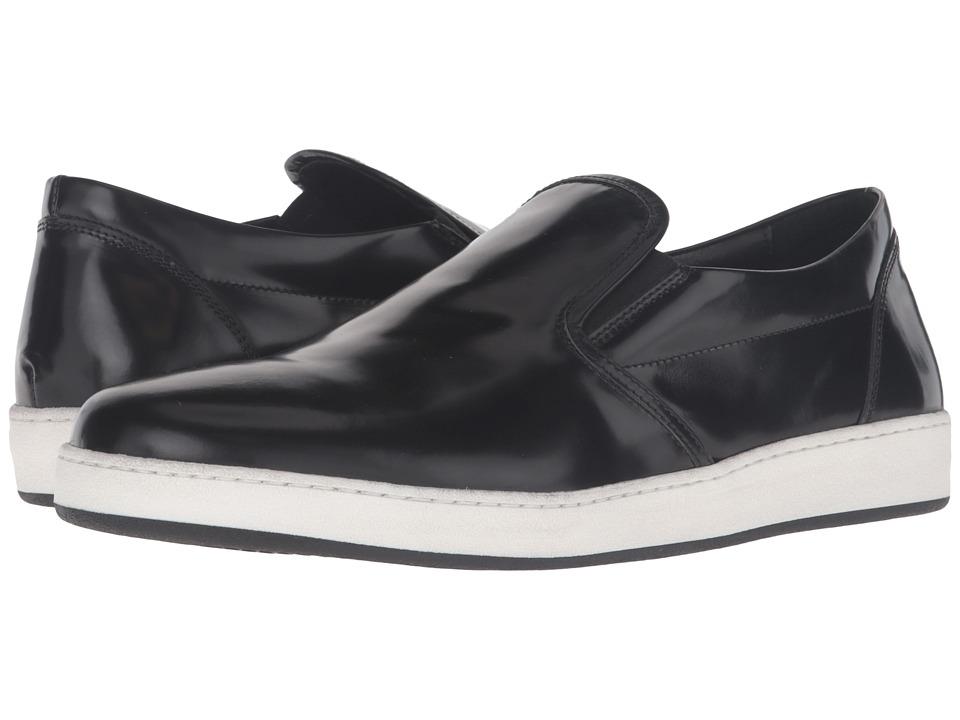 BUGATCHI - Monaco Sneaker (Nero) Men's Shoes