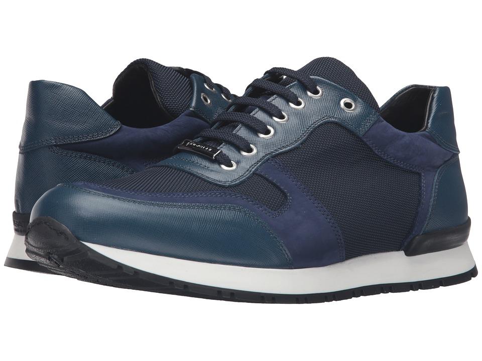 BUGATCHI - Modena Sneaker (Blue) Men's Shoes