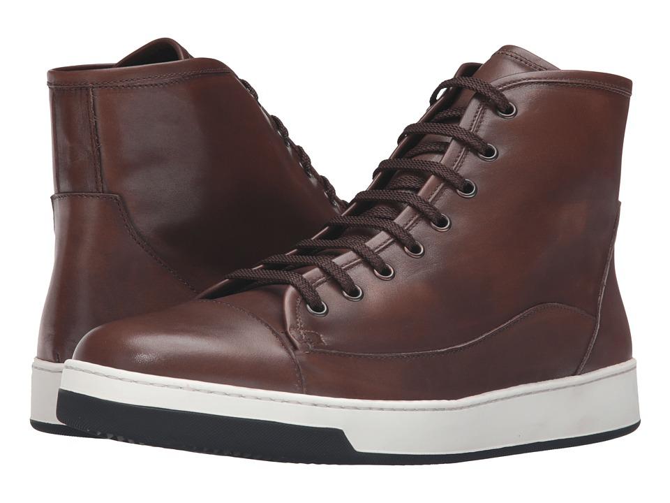 BUGATCHI - Venezia Sneaker (Brown) Men's Shoes