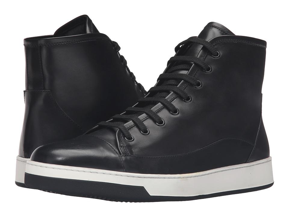 BUGATCHI - Venezia Sneaker (Nero) Men's Shoes