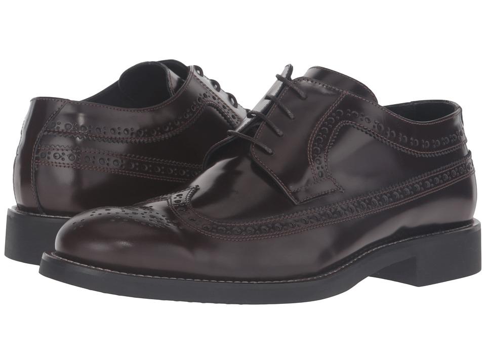 BUGATCHI - Sondrio Brogue (Marrone) Men's Shoes