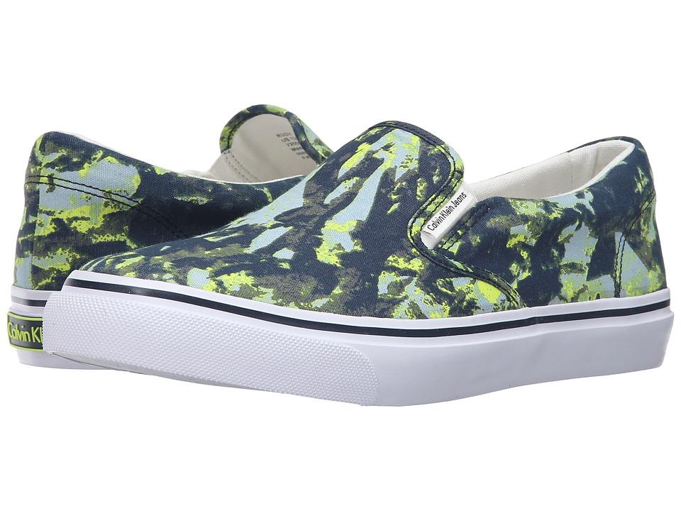 Calvin Klein Jeans - Rudy (Navy/White Tie-Dye Canvas) Men's Shoes