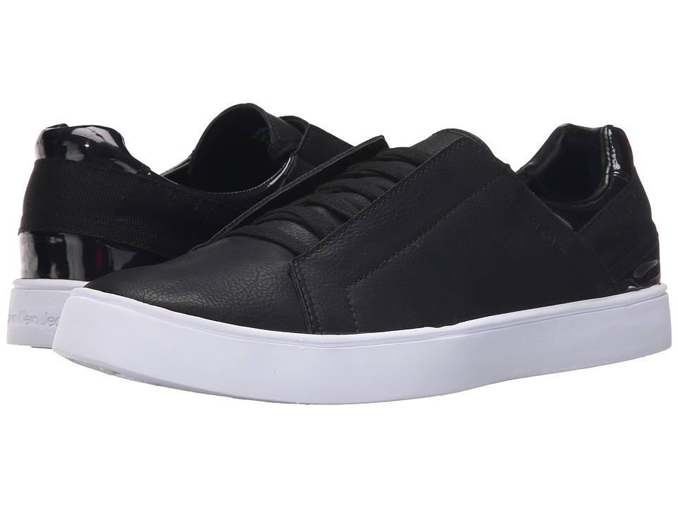 Calvin Klein Jeans - Lyon (Black/Black Smooth/Iridescent) Men's Shoes