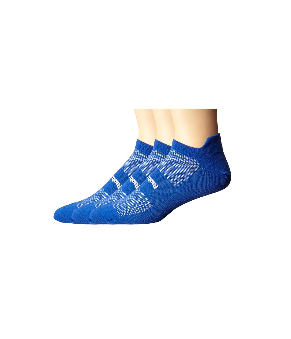 Feetures - High Performance Ultra Light No Show Tab 3-Pair Pack (Royal) No Show Socks Shoes