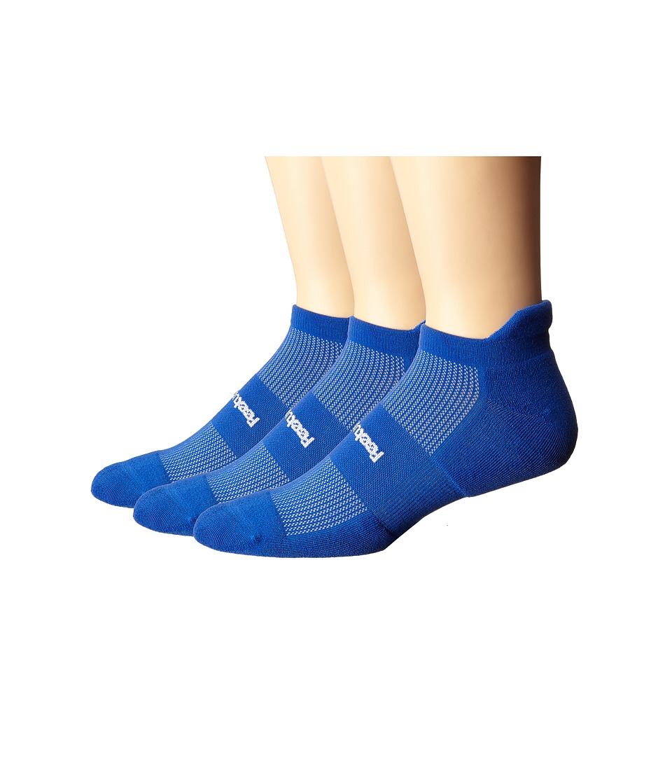 Feetures - High Performance Cushion No Show Tab 3-Pair Pack (Royal) No Show Socks Shoes