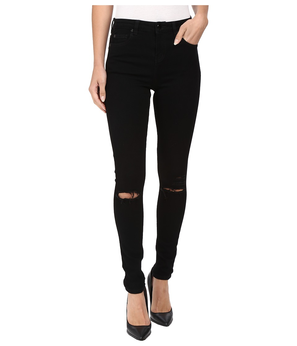 Obey - Slasher Skinny Jeans (Black) Women's Jeans