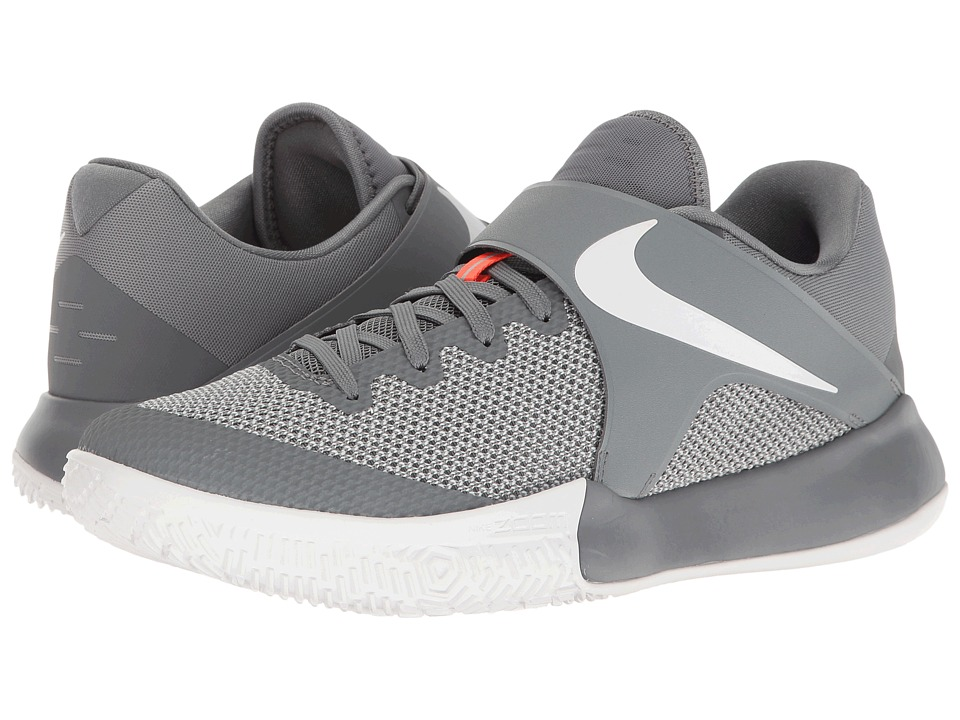 Nike - Zoom Live 2017 (Cool Grey/White/Pure Platinum) Men's Basketball Shoes