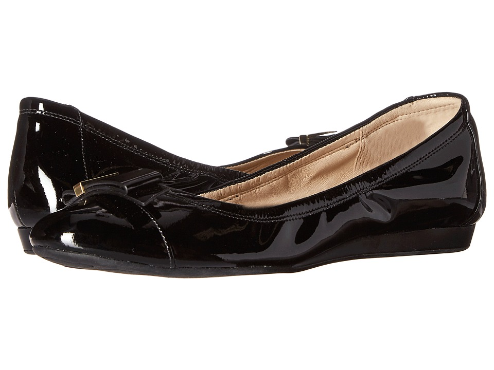 Cole Haan - Tali Hardware Ballet (Black Patent) Women's Shoes
