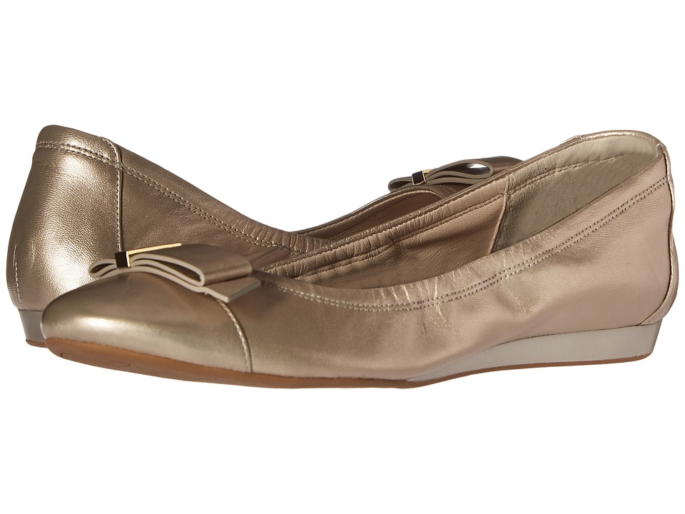 Cole Haan - Tali Hardware Ballet (Gold Metallic) Women's Shoes