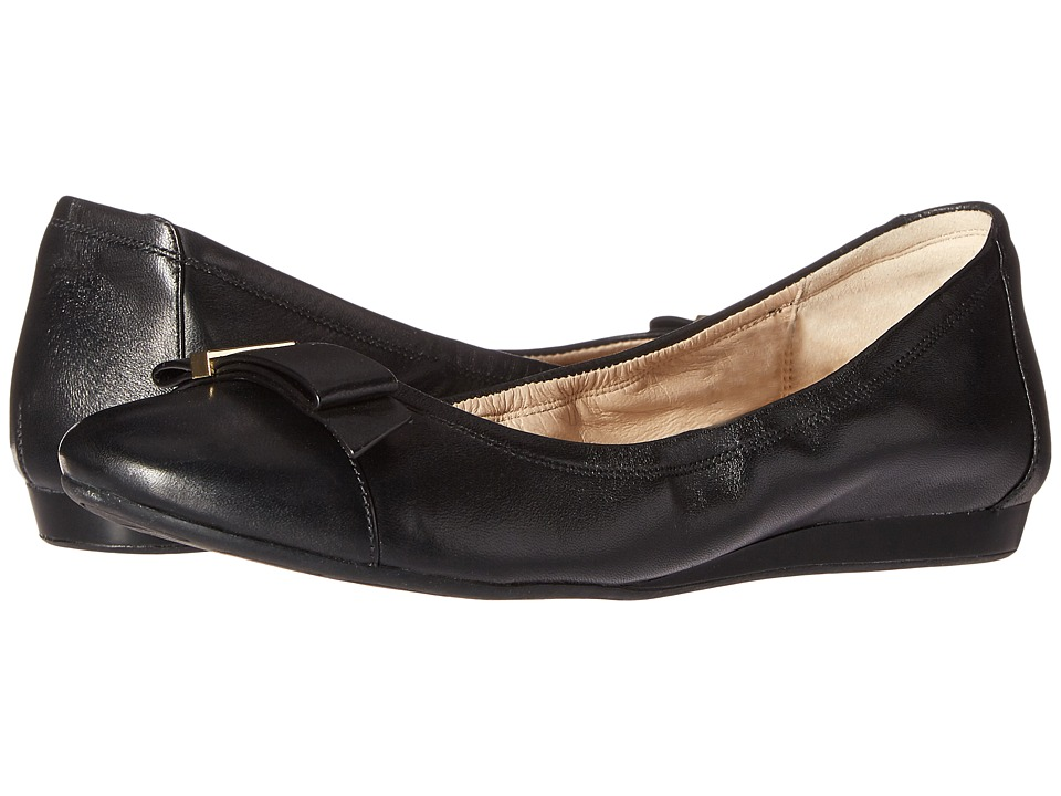 Cole Haan - Tali Hardware Ballet (Black Leather) Women's Shoes