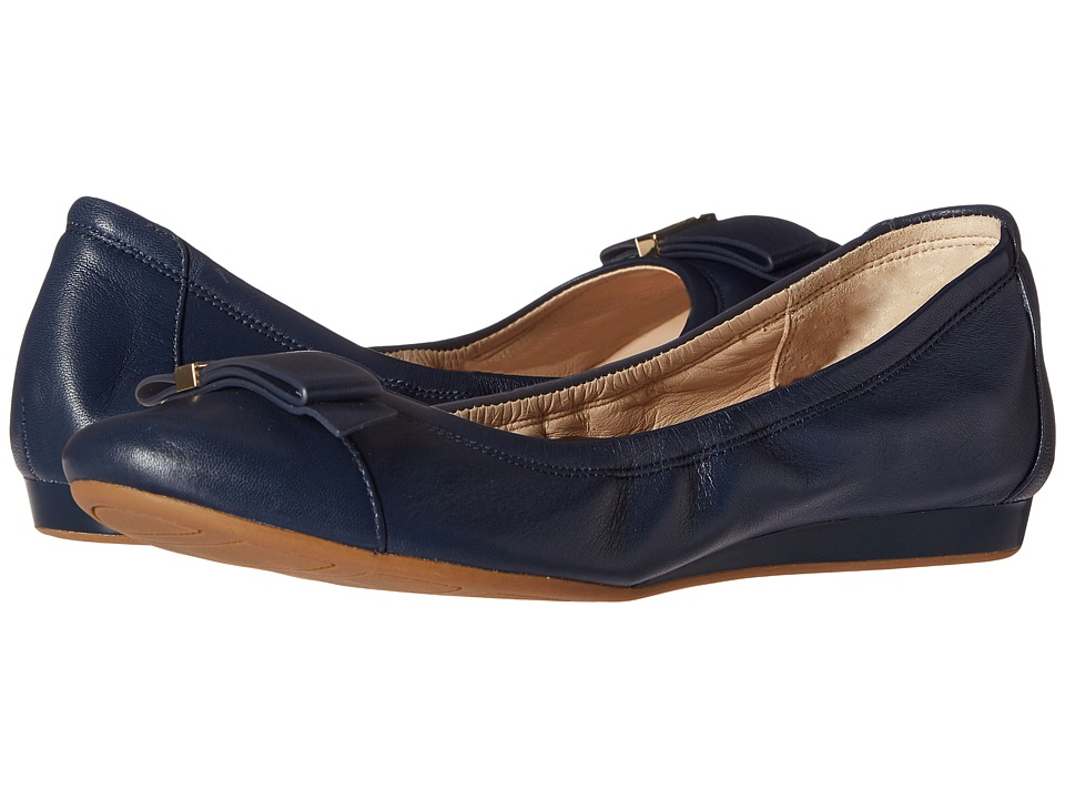 Cole Haan - Tali Hardware Ballet (Blazer Blue Leather) Women's Shoes