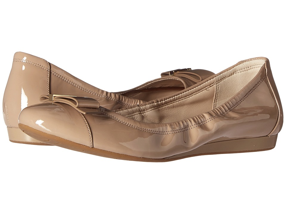 Cole Haan - Tali Hardware Ballet (Maple Sugar Patent) Women's Shoes