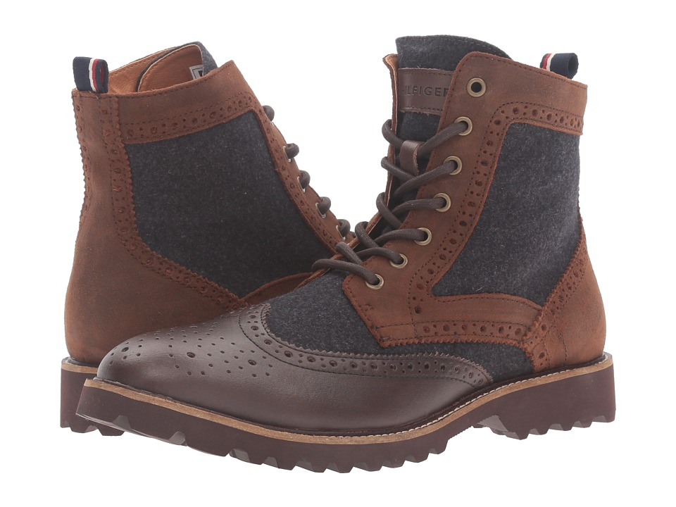 Tommy Hilfiger - Olympia (Brown) Men's Shoes