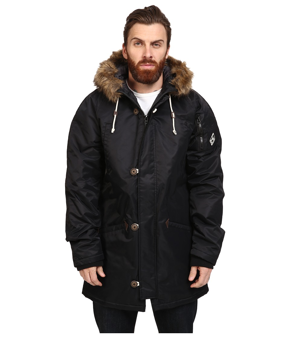Vans - Joel Tudor Hetch Mountain Edition Jacket (Black) Men's Coat