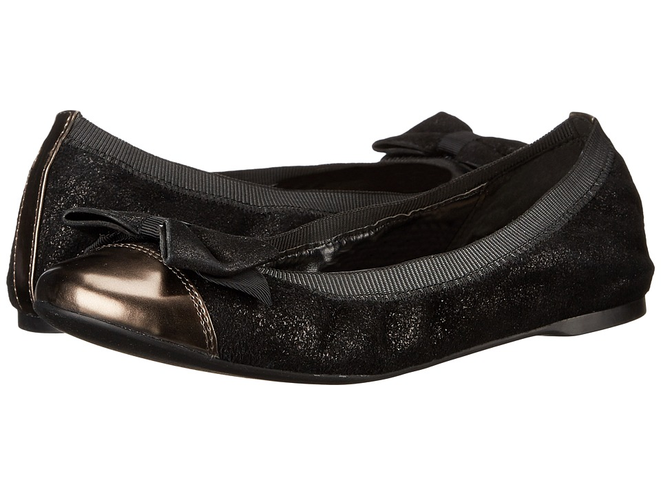 Cole Haan - Cortland Detail Ballet II (Black Sparkle) Women's Shoes