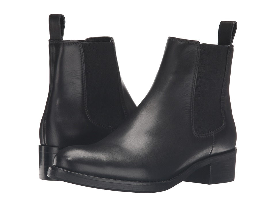 Dune London - Peppie (Black Leather) Women's Boots