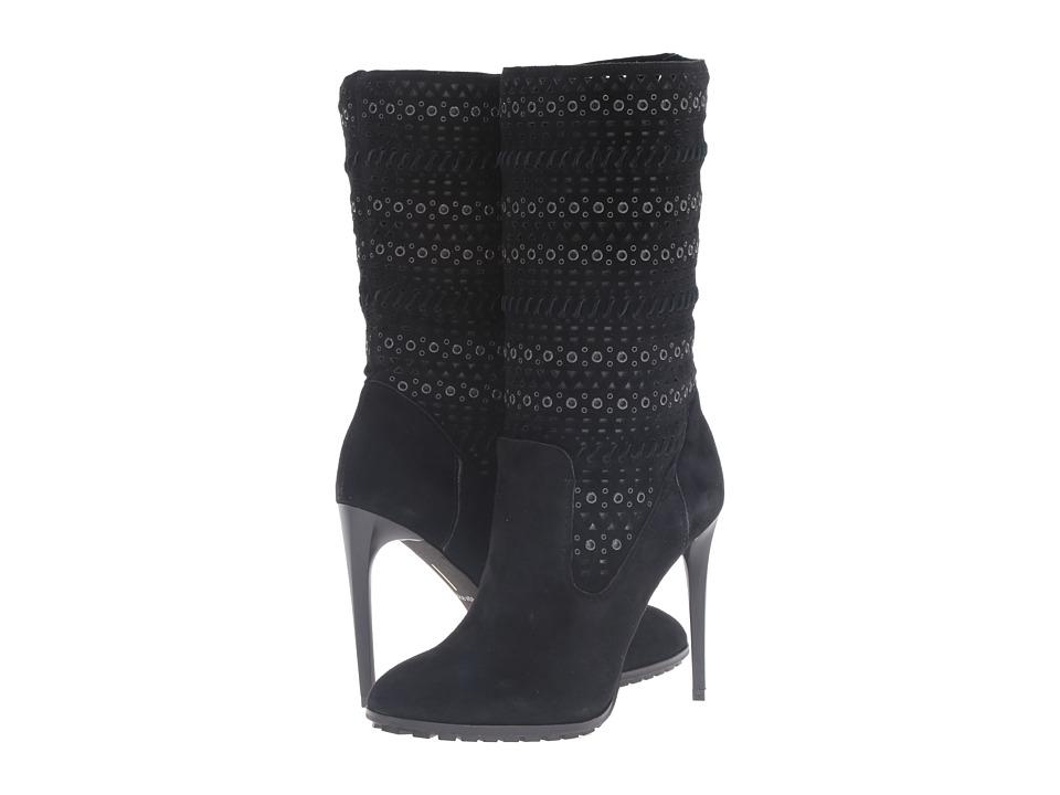 Dolce Vita - Mia (Black Suede) Women's Shoes