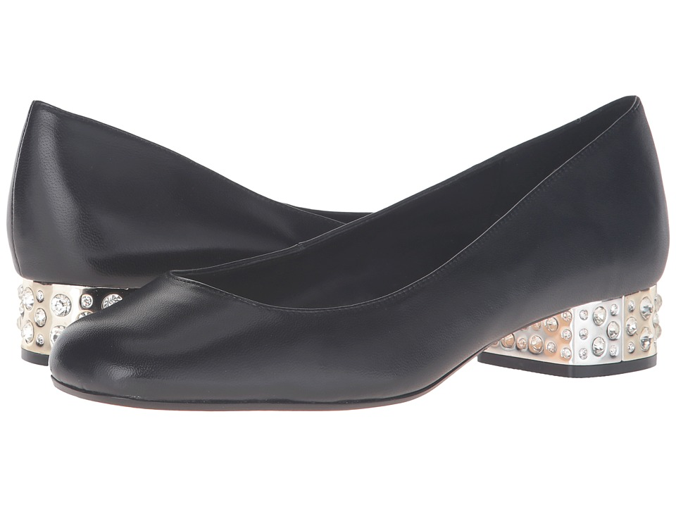 Dune London - Bijoux (Black Leather) Women's Shoes