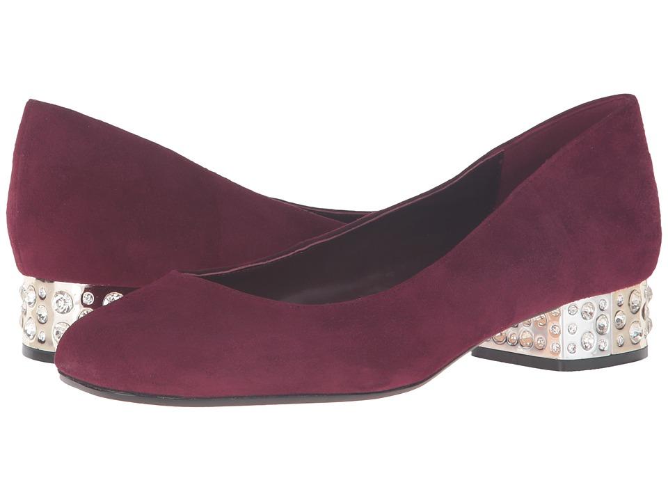 Dune London - Bijoux (Burgundy Suede) Women's Shoes