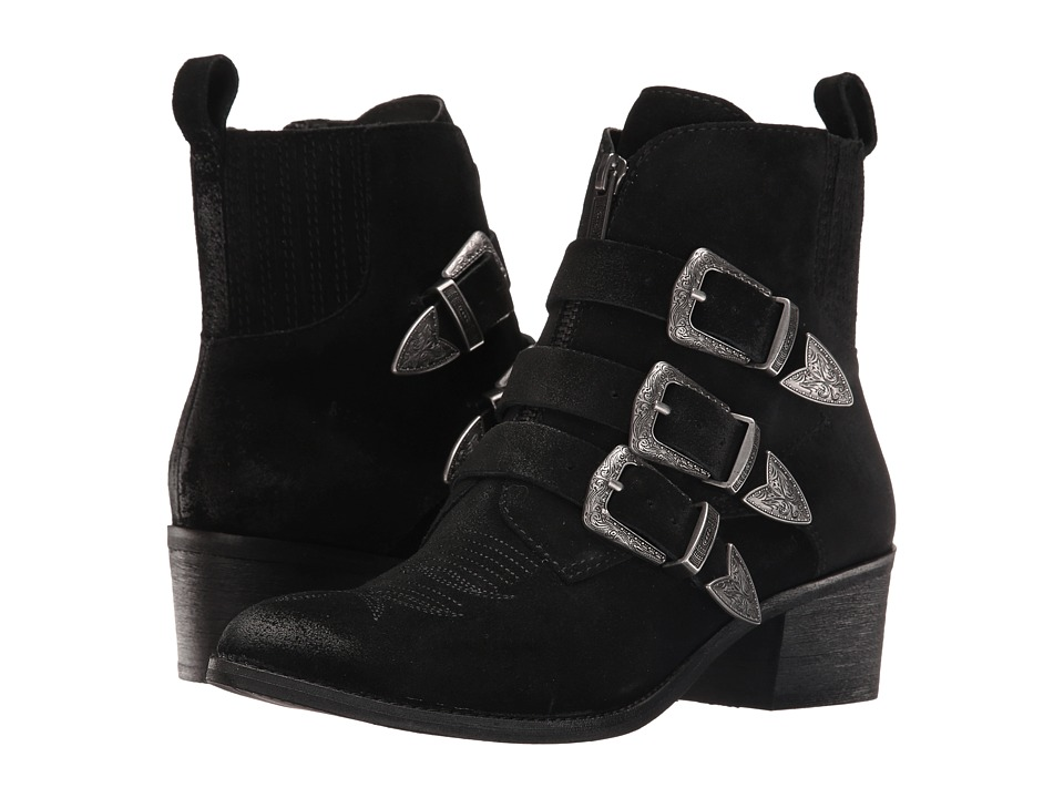 Dolce Vita - Scott (Black Suede) Women's Shoes