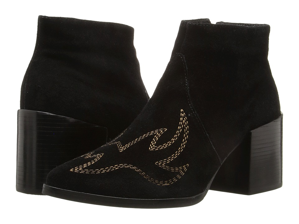 Matisse Vox (Black Leather Suede) Women