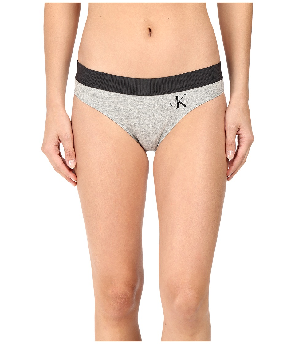 Calvin Klein Underwear - Retro Bikini (Millenial Stripe Silver Foil) Women's Underwear