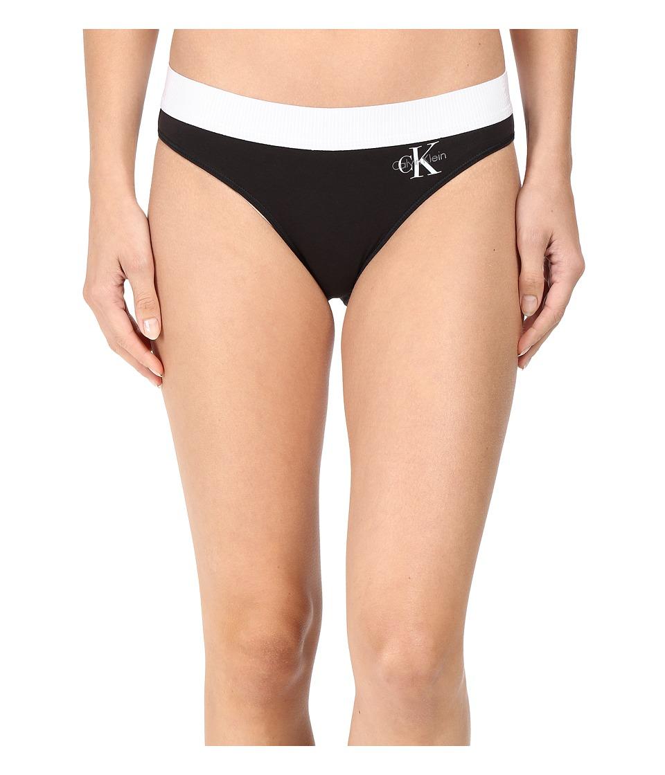 Calvin Klein Underwear - Retro Bikini (Black) Women's Underwear