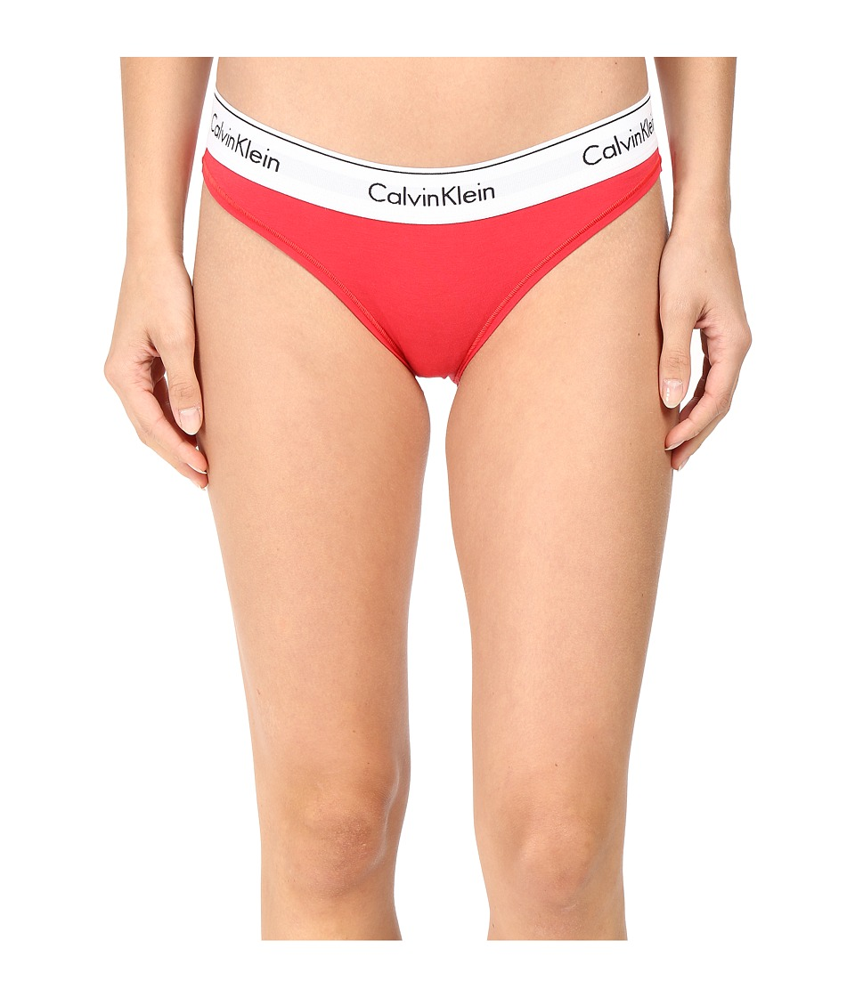 Calvin Klein Underwear - Modern Cotton Bikini (Evocative Red) Women's Underwear