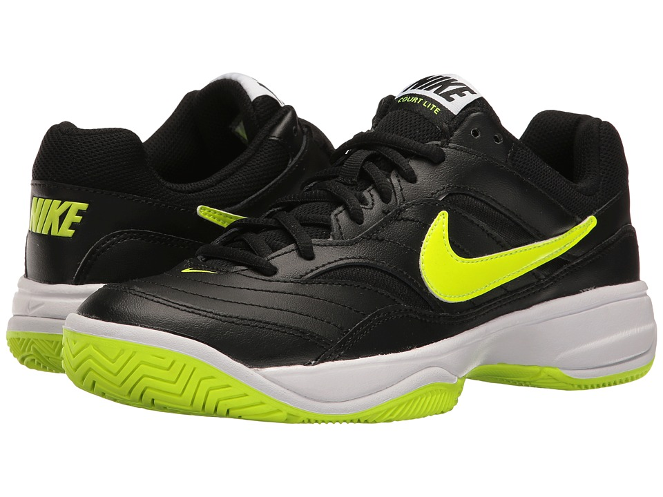 Nike - Court Lite (Black/Volt/White) Women's Tennis Shoes