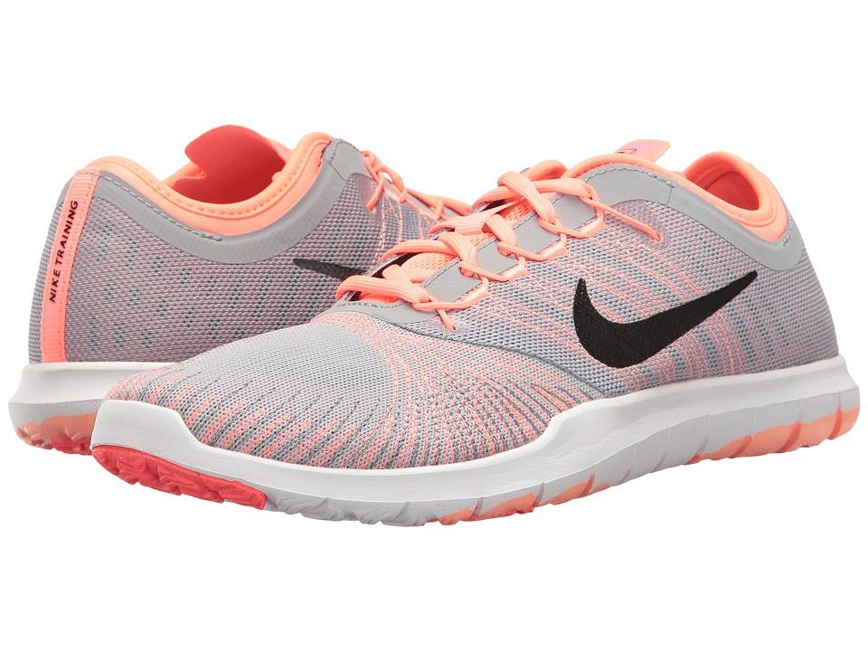 Nike - Flex Adapt TR (Wolf Grey/Black/Lava Glow/Hot Punch) Women's Cross Training Shoes